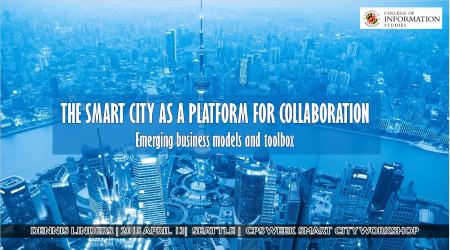 Cover of Smart Cities as a Platform for Collaboration Presentation