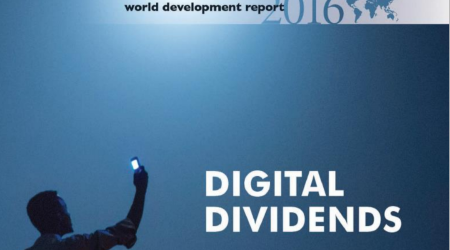 Cover of the World Development Report 2016
